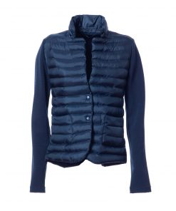 100g  jacket with stretch knit inserts