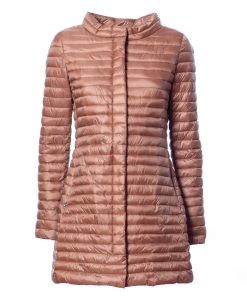 100g long quilted jacket